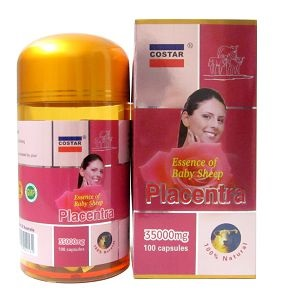 Costar Sheep placenta 35g 100s