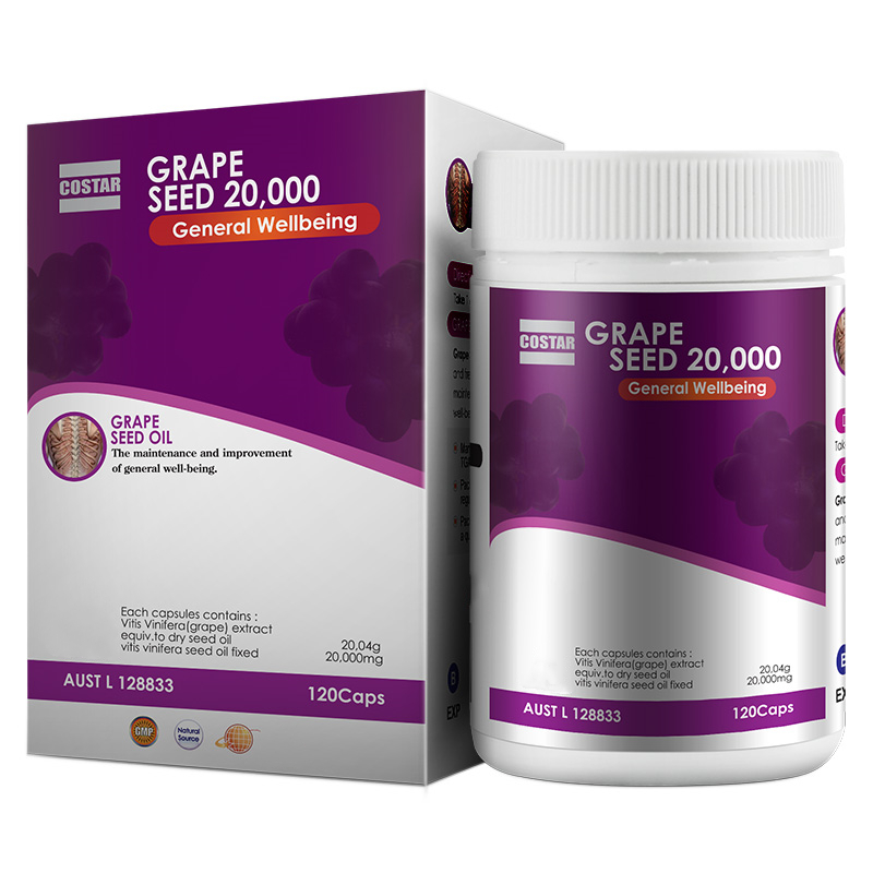 Costar Grape seed 20000mg 120s