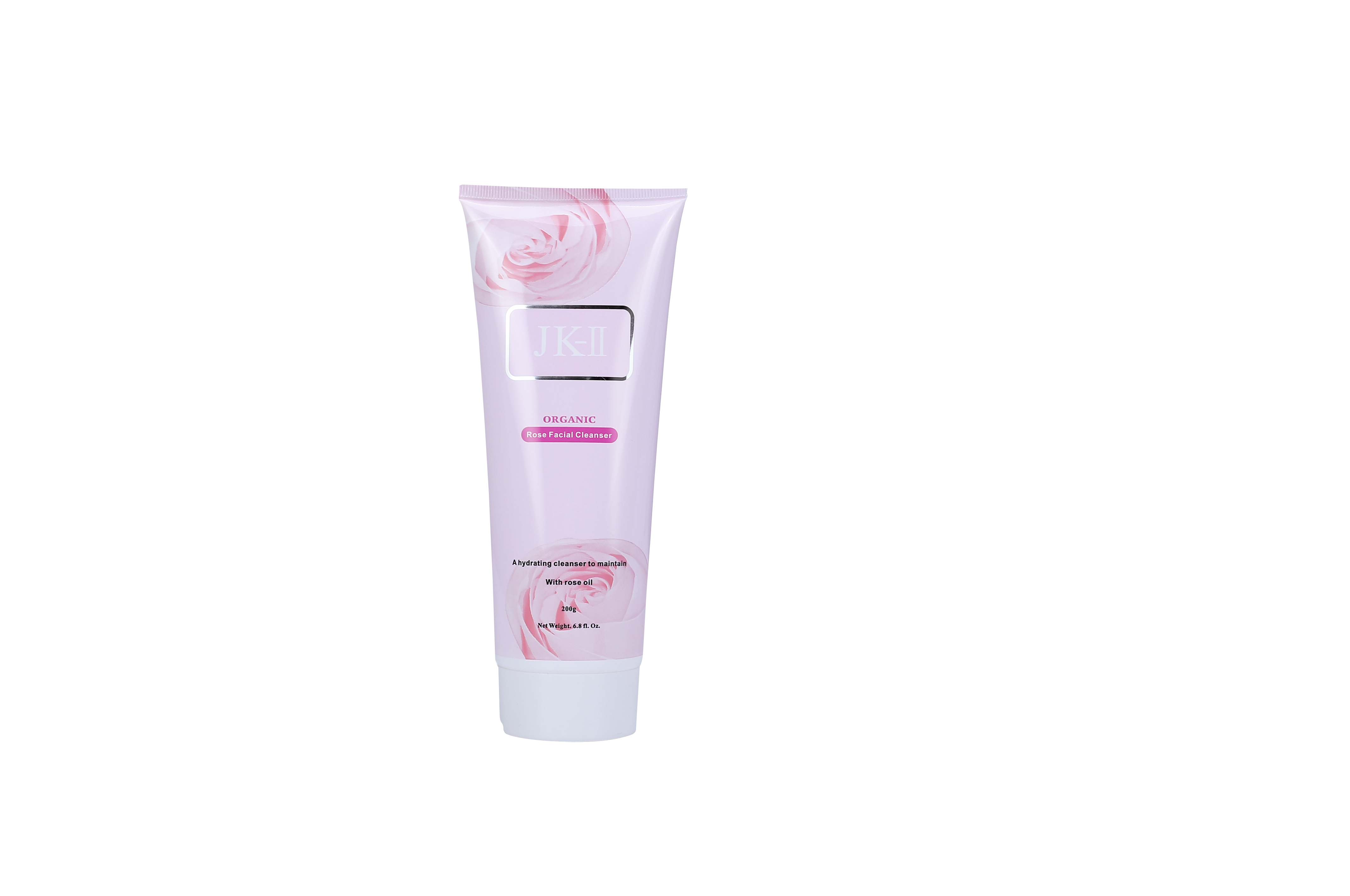 J&K Organic Rose Facial Cleanser 200g