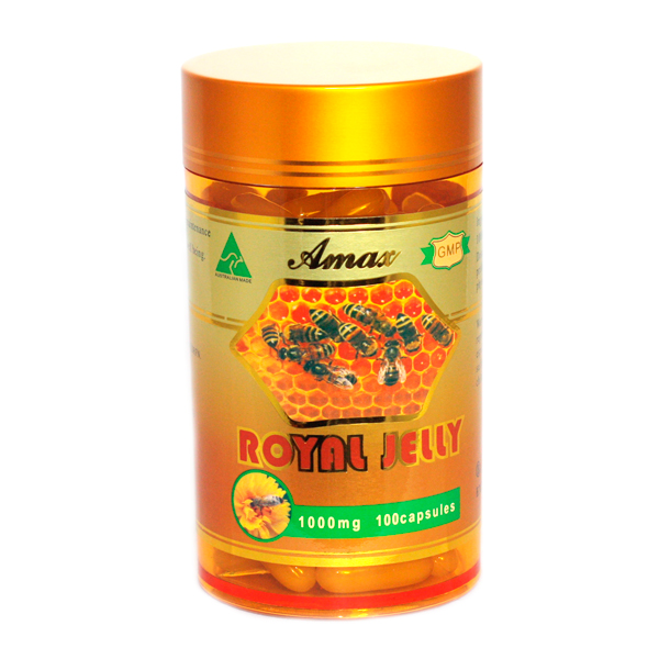 Amax royal jelly 100s