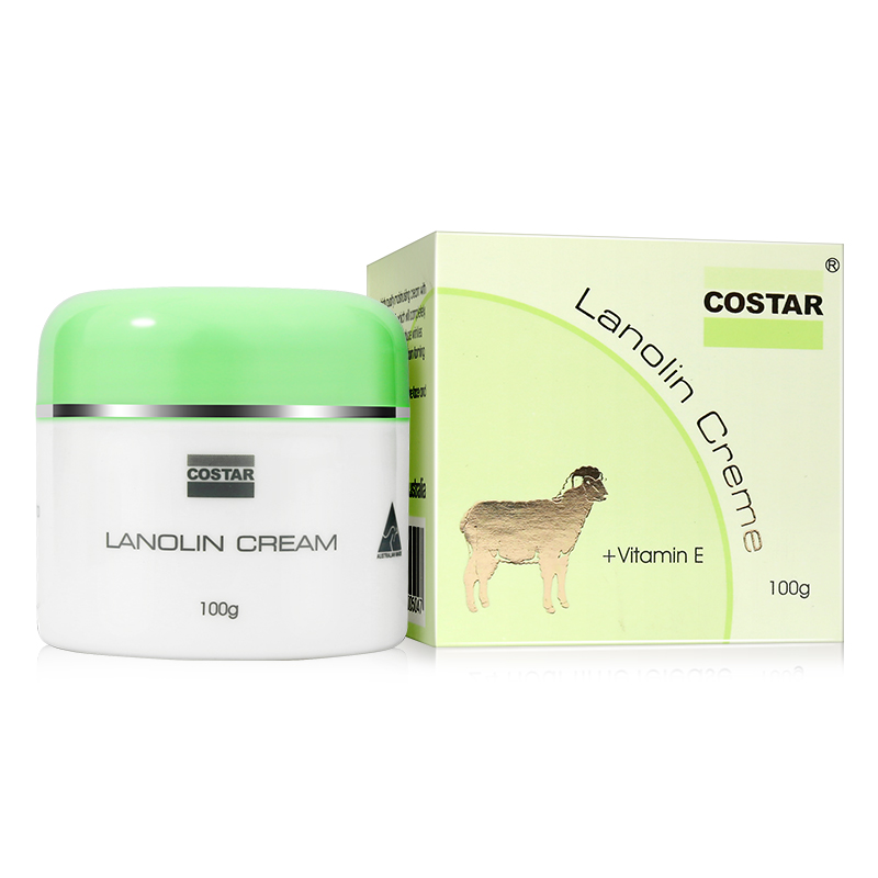 Costar Lanolin Cream +Vitamin E 100g