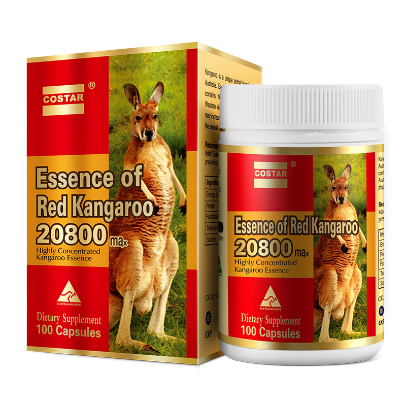 Costar essence of red kangaroo 20800mg 100s