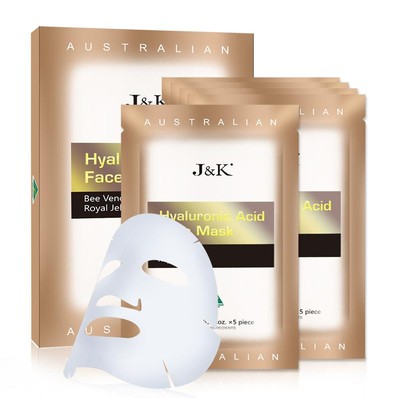 J&K Hyaluronic Acid Face Mask- Bee Venom