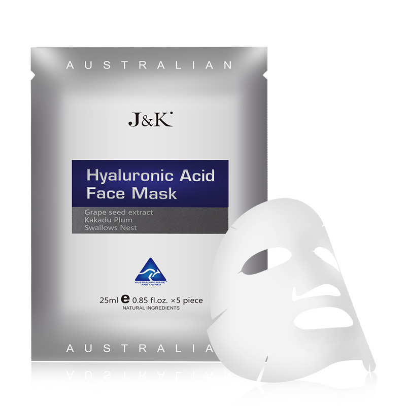 J&K Hyaluronic Acid Face Mask -Grape seed
